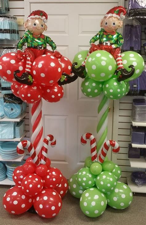 98 best christmas balloon ideas and elf on shelf in