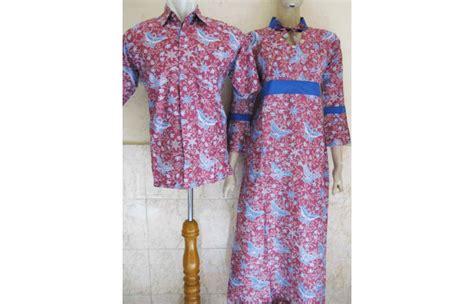 Baju Batik Sarimbit Merah baju batik sarimbit kupu kupu merah toko batik jogja