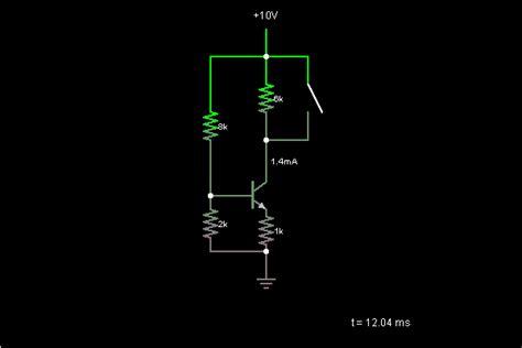 transistor linux current source with transistors circuit simulator