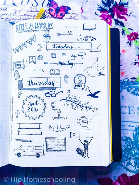 how to doodle in a journal using doodles in your bullet journal bullet doodles and