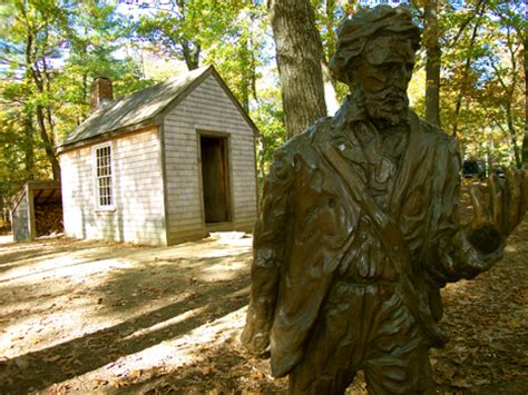 Walden Pond Thoreau Cabin by Walden Pond Thoreau Quotes Quotesgram