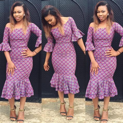 simple fittess ankara gown styles simple styles