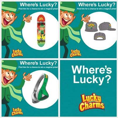 Lucky Charm Sweepstakes - lucky charms marshmallow only sweepstakes
