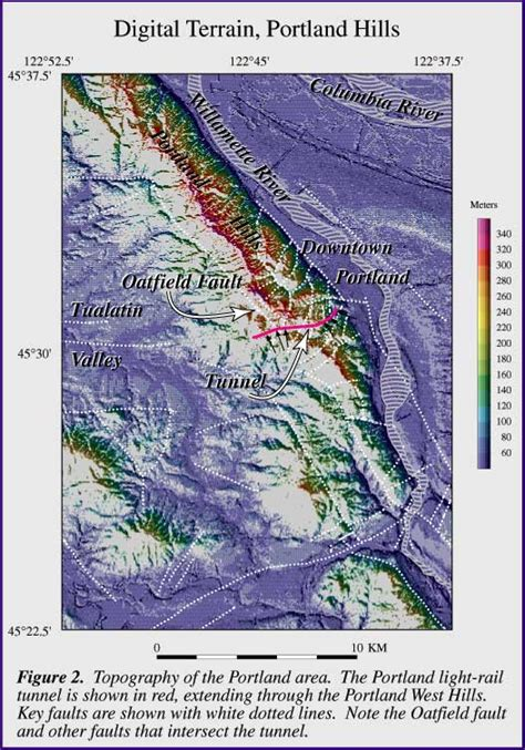 map of oregon earthquake fault lines pacific northwest geologic mapping and hazards