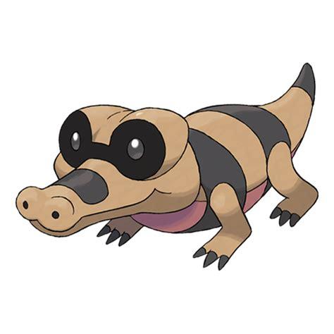 pokemon sandile coloring pages images pokemon images sandile pok 233 dex