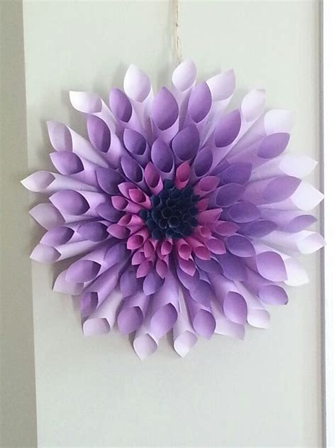 dyed paper decor craft projects   fan