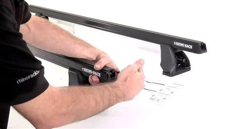 How To Remove Rhino Roof Racks by Rhino Rack Hd Series Roof Racks How To Installation