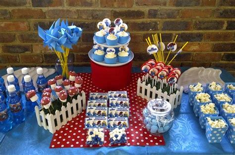 smurfs theme decorations smurfs centerpiece table decorations photograph smurf part