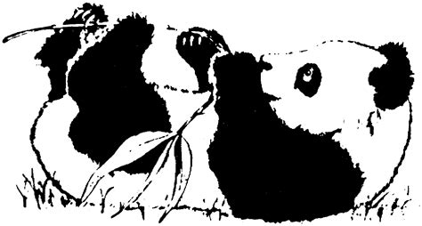 free panda bear coloring pages