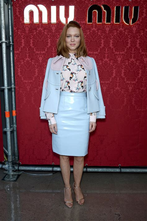 lea seydoux leather jacket lea seydoux paris knows how to pack a front row