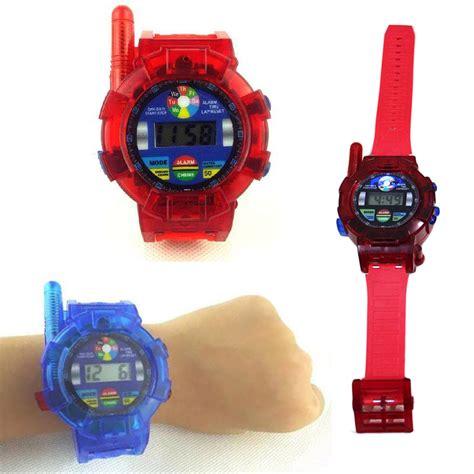 Mainan Anak Children Walkie Talkie 1 Pair 2pcs 2pcs walkie talkie toys for children wrist walkie talkie electronics gadget toys