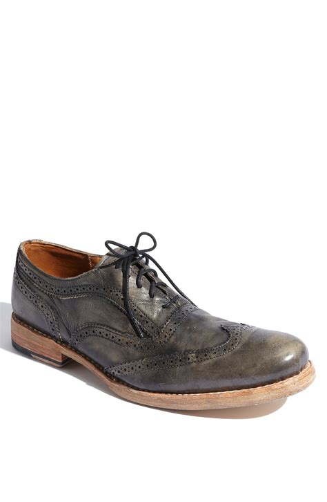 bed stu oxford shoes bed stu corsico wingtip oxford in gray for black