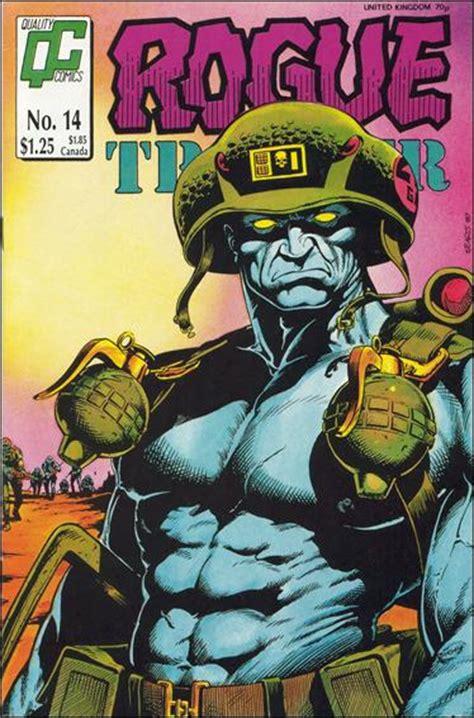 Rogue Trooper Tpb 1984 1988 rogue trooper 14 a jan 1988 comic book by quality comics