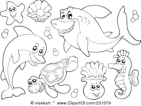underwater sea life coloring pages coloring pages sea animals coloring page freescoregov com