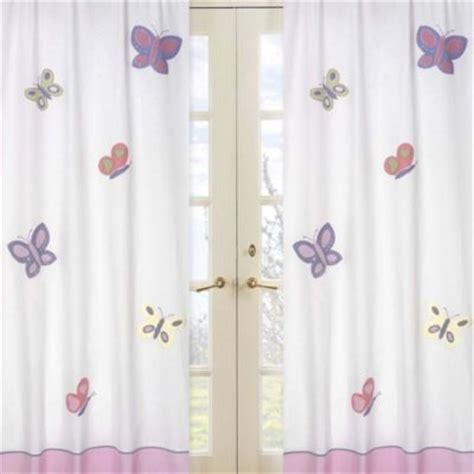 butterfly curtains for kids buy window curtains kids from bed bath beyond