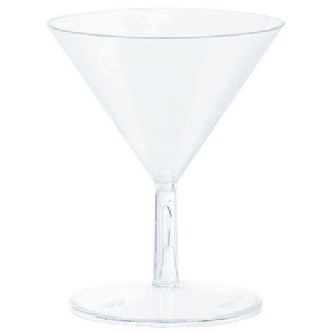 mini plastic martini glasses 20 mini martini glasses plastic clear 59 ml amscan europe