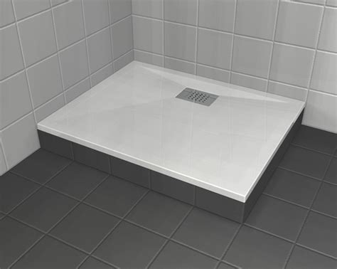 piatto doccia rialzato piatti doccia resina acrilico grandform