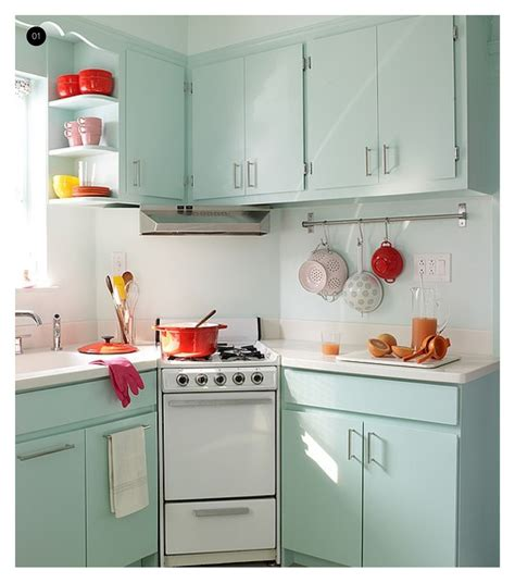 small vintage kitchen ideas wonderful soft blue polished small kitchen cabinet sets and white porcelain countertops as well
