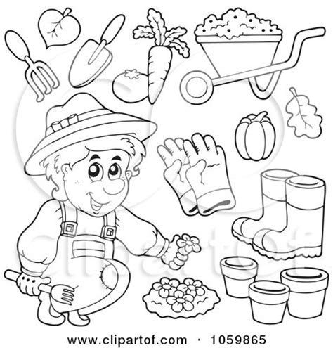 garden shed coloring page royalty free vector clip art illustration of a digital