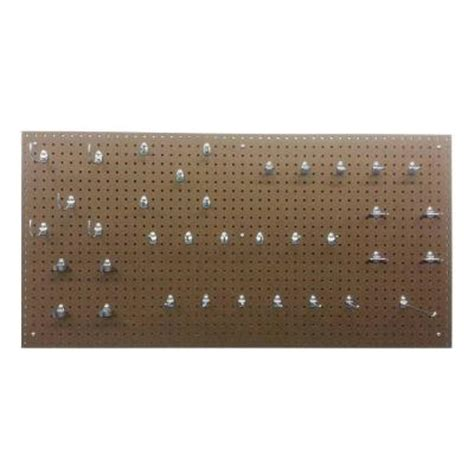 triton products true tempered hardboard pegboard with 36