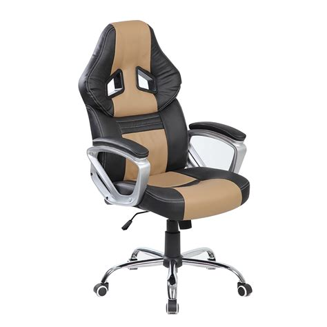 Gaming Desk Chairs Btm High Back Office Racing Gaming Chair Review 2017