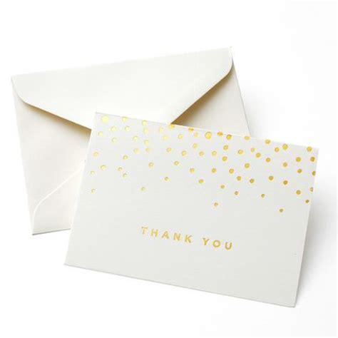 gartner studios place cards gold foil dots pack of 50 by gartner studios gold foil dot thank you cards walmart ca