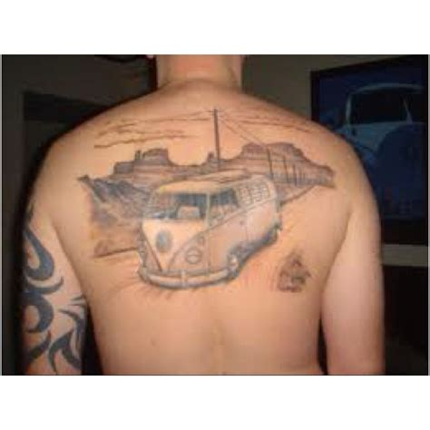 volkswagen bus tattoo 56 best vw and volvo tattoos images on pinterest tattoo