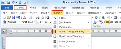 New Bullets Microsoft Word Change The Selected Table To Table Classic 2 Style