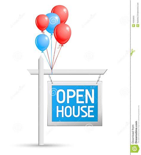 open house sign open house sign stock photos image 16350603