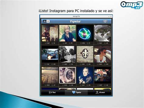tutorial instagram para pc tutorial de instagrille instagram para pc
