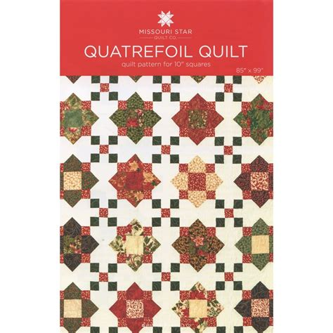 Missouri Quilting Company Deal Of The Day by Quatrefoil Quilt Pattern By Msqc Msqc Msqc Missouri