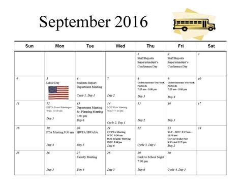 Cycle Calendar Cycle Calendars September Cycle Calendar