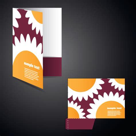 design cover file vector layout folder cover design set 02 vector cover
