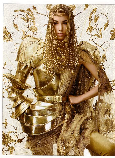 Gold Fashion by The Golden Age Thetattooedgeisha