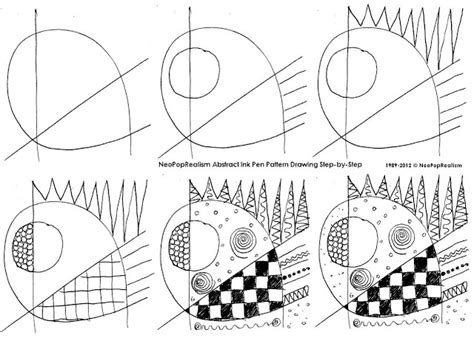 pattern drawing for grade 1 curriculum syllabus 2nd grade neopoprealism ink pen