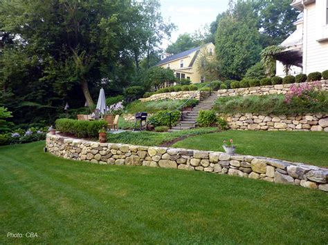 how to level a sloped backyard residential gallery cba landscape architects llc