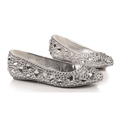 Comfortable Wedding Flats For by Comfortable Flats Silver Shoes From Creativesugar