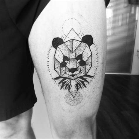 panda tattoo dotwork 17 best images about panda tattoos on pinterest