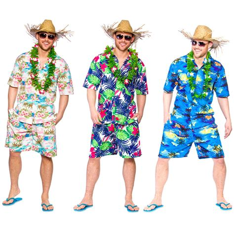 clothing themed parties adult hawaiian summer party guy palm tree fancy dress