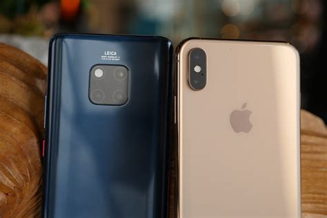 iphone xs max vs mate 20 pro the battle of the giants the fone stuff