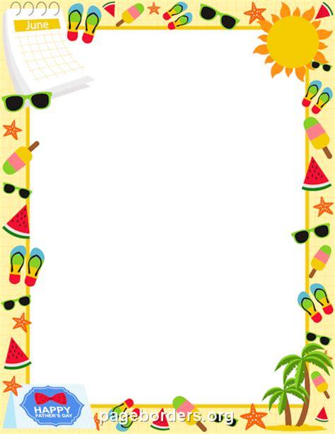 June Wedding Clipart by June Border Clip 17