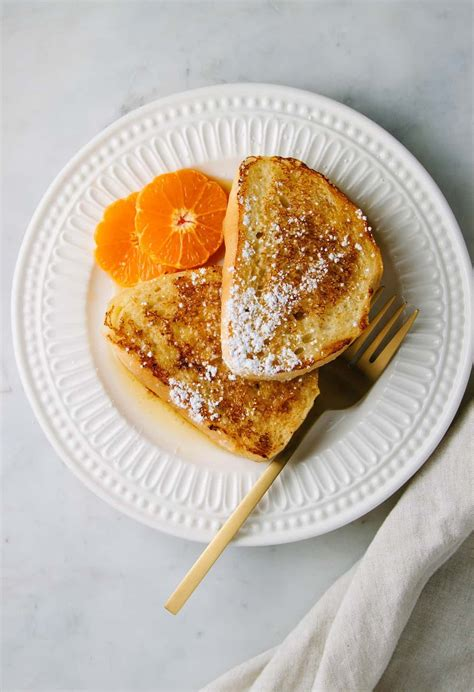 orange french toast  simple veganista