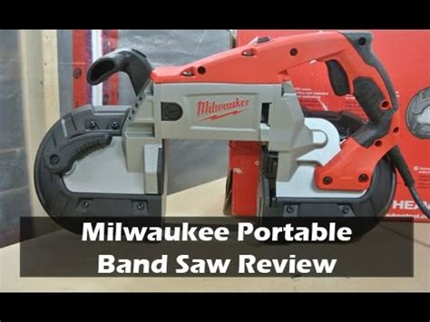 Milwaukee Portable Bandsaw Turned Into Vertical Bandsaw