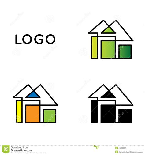 logo chambre logo de chambre photographie stock image 23256002