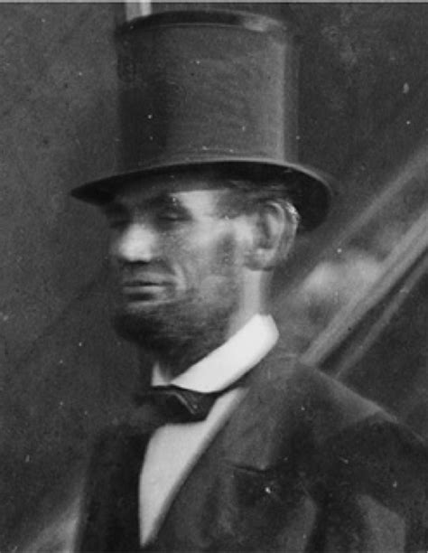 what of hat did abe lincoln wear the day lincoln was a visual faq church