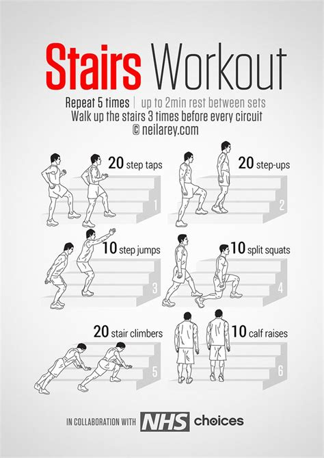 stairs workout mind and