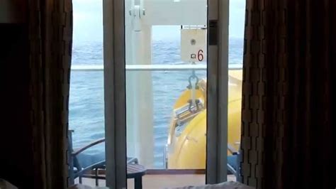 Quantum of the Seas   Cabin 6198 obstructed view   YouTube