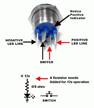 Push Button Switch To Latching
