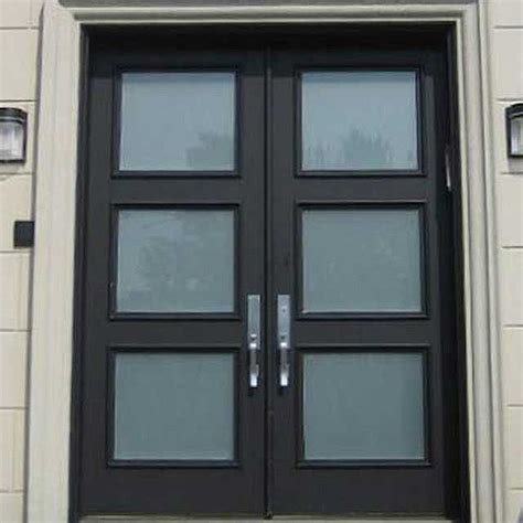 Entry Doors Gressan Square Entry Door Melbourne Wrought Iron