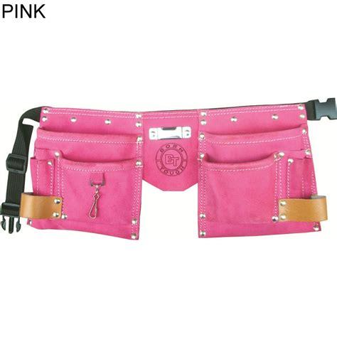 bourn tough ktb 01 10 pocket suede leather tool belt